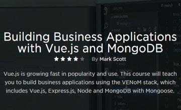 Создание бизнес-приложений с Vue.js и MongoDB