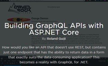 Создание GraphQL API с помощью ASP.NET Core