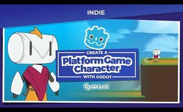 Создание игрового персонажа 2D-платформы с помощью Godot