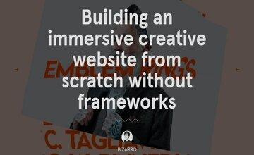 Создание Креативного Веб-сайта с Нуля без Фреймворков