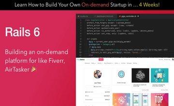 Создание маркетплейса для фрилансеров, как Fiverr, с Rails 6