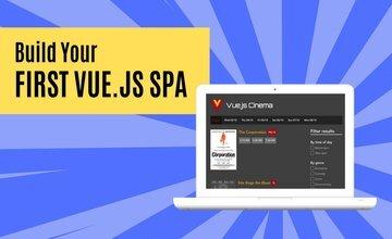 Создание одностраничного приложения Vue.js с помощью Vue Router