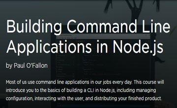 Создание приложений командной строки в Node.js