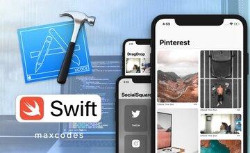 Создавайте приложения UICollectionView с помощью Swift и Xcode.