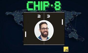 Создайте эмулятор Chip-8 на JavaScript, который работает в браузере.