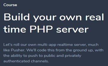 Создайте свой собственный PHP-сервер