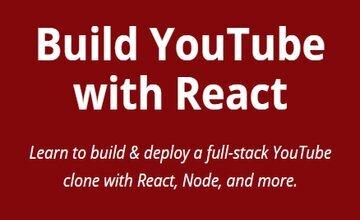 Создайте YouTube с помощью React