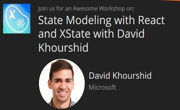 State Modeling c React и XState с Дэвидом Хуршидом