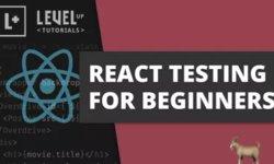 Тестирование React для начинающих
