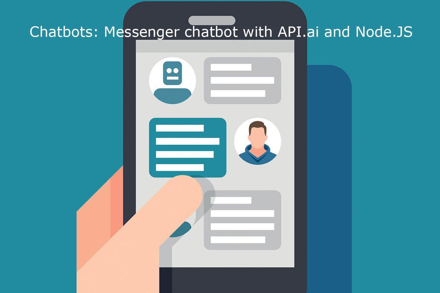 Чатбот в Messenger с помощью API.ai и Node.JS