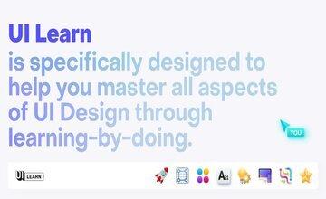 UI Learn. Изучите UX/UI-дизайн