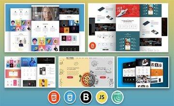 Frontend веб-разработка - 8+ курсов включено!