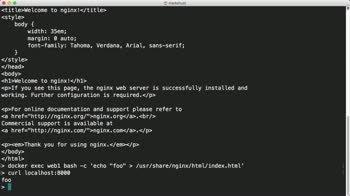 Управление данными с помощью Докер Volumes
