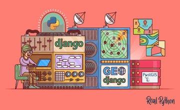 Веб-приложение на основе местоположения с помощью Django и GeoDjango