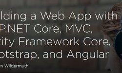 Веб-приложение с ASP.NET Core, MVC, Entity Framework Core, Bootstrap, и Angular