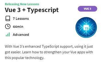 Vue 3 + Typescript