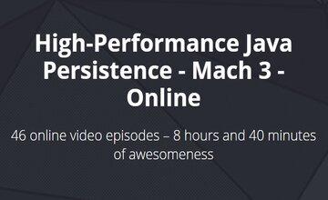 Высокая производительность Java Persistence - Mach 3