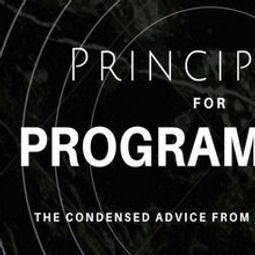 [Книга] Принципы для программистов: сжатые советы от лучших в мире