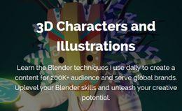 3D персонажи и иллюстрации