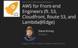 AWS для Frontend инженеров (S3, Cloudfront, Route 53, and Lambda@Edge)