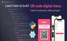Конструктор цифрового QR Меню (Python/Django + React)