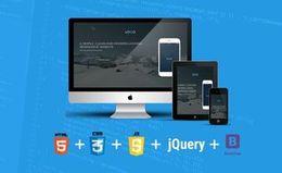 Создание адаптивного веб-сайта с использованием HTML5, CSS3, JS и Bootstrap