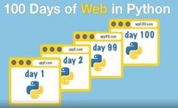 100 дней веб-разработки с Python