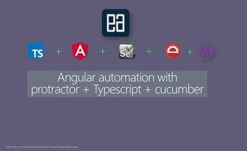 Angular автоматизация с помощью Protractor + Typescript + Cucumber