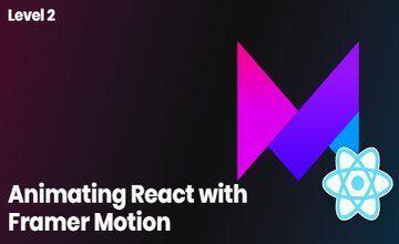 Анимации в React c Framer Motion