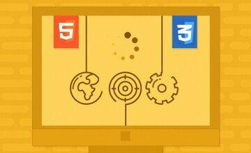 SVG и CSS Анимация - Использование HTML и CSS