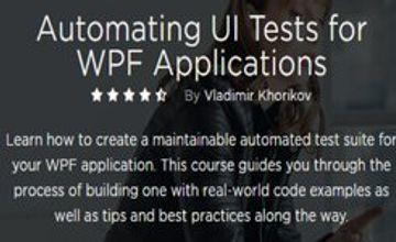 Автоматизация UI тестов для приложений WPF