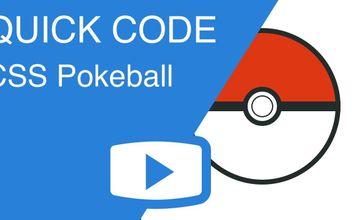 CSS Анимированный Poké Ball