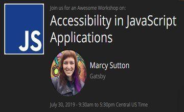 Доступность в приложениях JavaScript