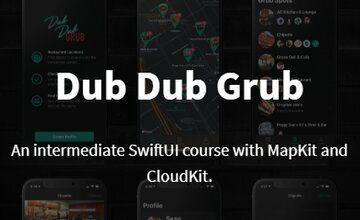 Dub Dub Grub. SwiftUI с MapKit и CloudKit.