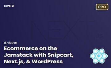 Ecommerce на Jamstack с Snipcart, Next.js, и WordPress