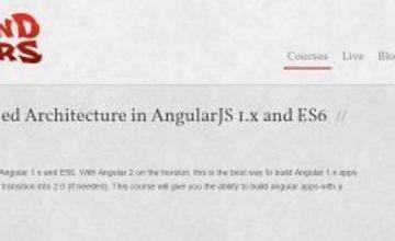 Компонентная архитектура в Angular 1.x и ES6
