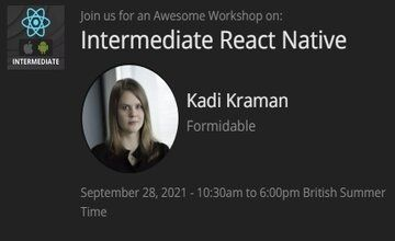 Intermediate React Native