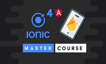 Ionic 4 Firebase Мастер Курс
