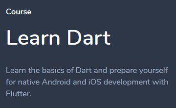 Изучаем Dart