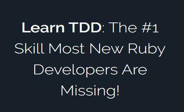Изучите TDD: Навык №1, которого не хватает большинству разработчиков Ruby!