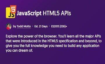 JavaScript HTML5 APIs