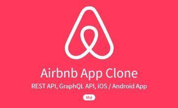Клон приложения Airbnb