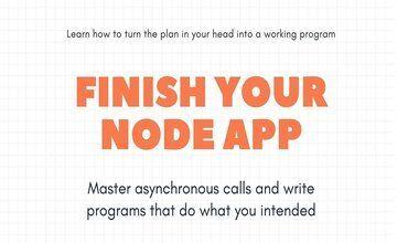 [Книга] Завершите свое приложение Node