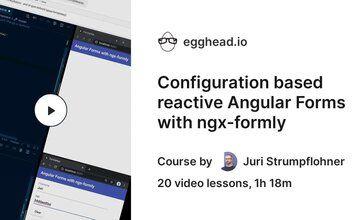 Конфигурация Реактивных Форм Angular (Reactive Forms) с ngx-formly