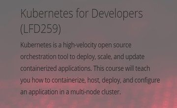 Kubernetes для разработчиков (LFD259)