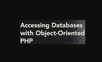 Доступ к базам данных с помощью объектно-ориентированного PHP
