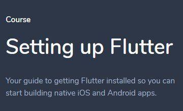 Настройка Flutter