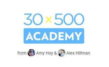 Научитесь запускать прибыльные продукты в формате 30x500