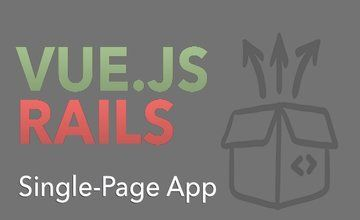 Одностраничное приложение с Vue.js и Rails