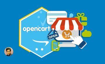 OpenCart 3 - полный курс профессионального проекта для электронной коммерции